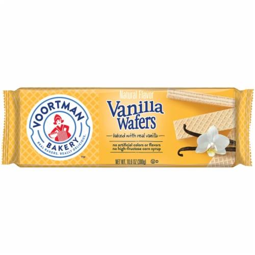 Voortman Bakery Vanilla Wafers Perspective: front