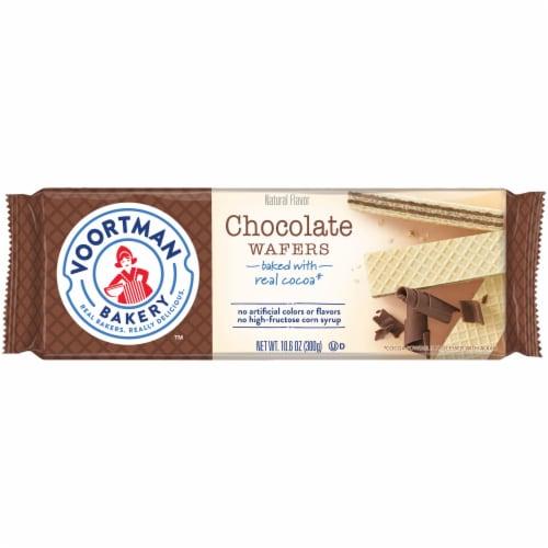 Voortman Bakery Chocolate Wafers Perspective: front