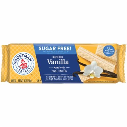 Voortman Bakery Sugar Free Vanilla Wafer Cookies Perspective: front
