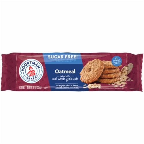Voortman Bakery Sugar Free Oatmeal Cookies Perspective: front