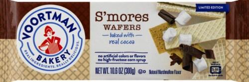 Voortman Bakery S'mores Wafers Perspective: front