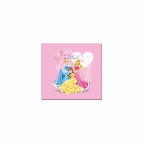 Princess Glitter & Embossed Post Bound Album 12''X12''- Perspective: front