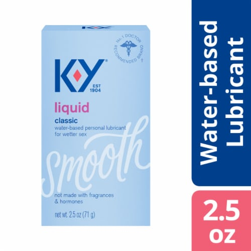 K-Y Smooth Classic Liquid Personal Lubricant Perspective: front