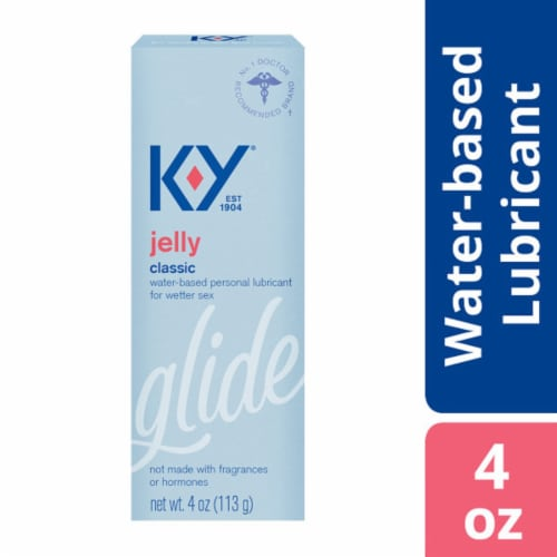K-Y Jelly Personal Lubricant Perspective: front