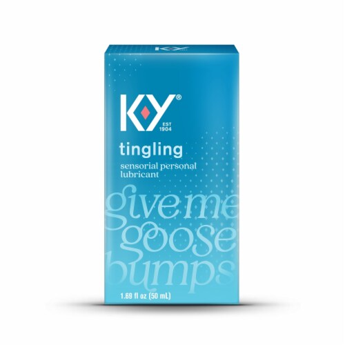K-Y Tingling Lubricant Perspective: front