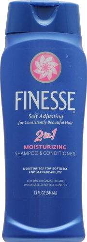 Finesse Moisturizing 2 in 1 Shampoo & Conditioner Perspective: front