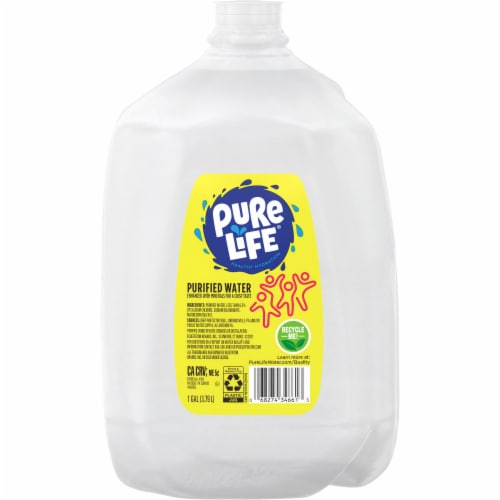 Nestle Pure Life Purified Water Perspective: front