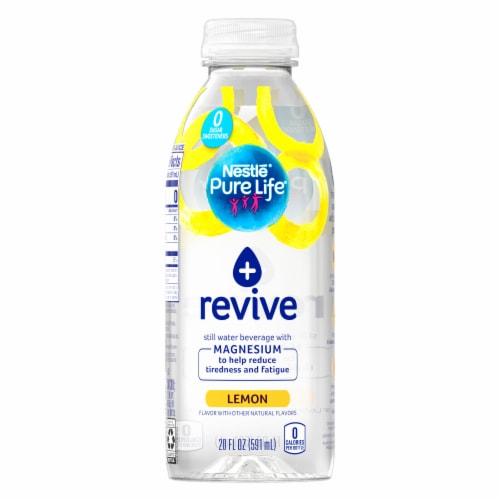 Nestle Pure Life Revive Lemon Still Water Perspective: front