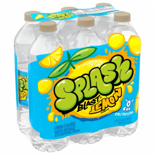 Nestle Splash Lemon Natural Flavored Water