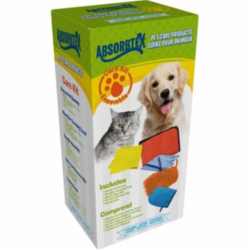 Absorbtex ABPCK100 Petcare Bundle Kit Includes Micro Fiber Perspective: front
