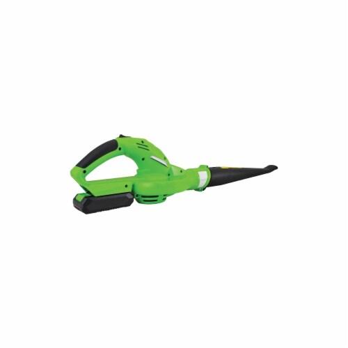 Serene-Life PSLHTM32 Electric Leaf Blower, Green Perspective: front