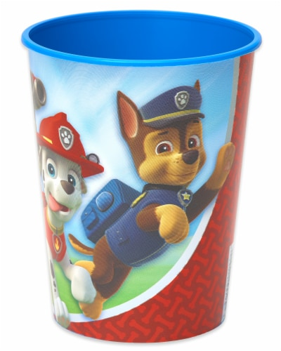 American Greetings Paw Patrol Reusable Plastic Party Cups Perspective: front
