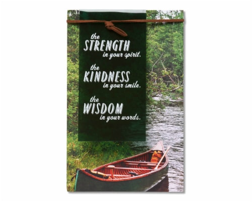 American Greetings Father's Day Card (Strength Kindness Wisdom) Perspective: front