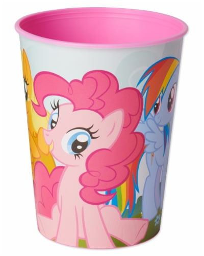 American Greetings My Little Pony Reusable Plastic Party Cups Perspective: front