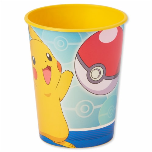 American Greetings Pokemon Reusable Plastic Party Cups Perspective: front