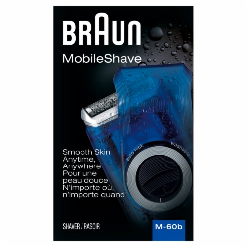 Braun MobileShave M-60b Shaver Perspective: front