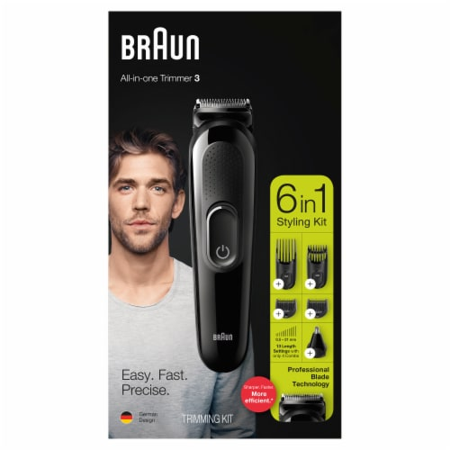Braun All-in-One Trimmer 6-in-1 Styling Kit Perspective: front