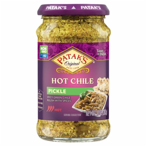 Patak's Chile Relish Perspective: front