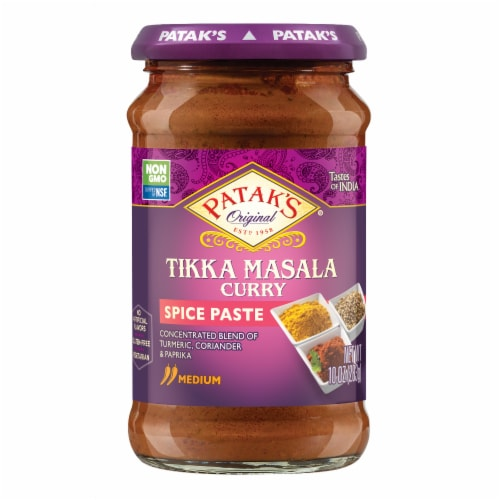 Patak's Tikka Masala Curry Paste Perspective: front