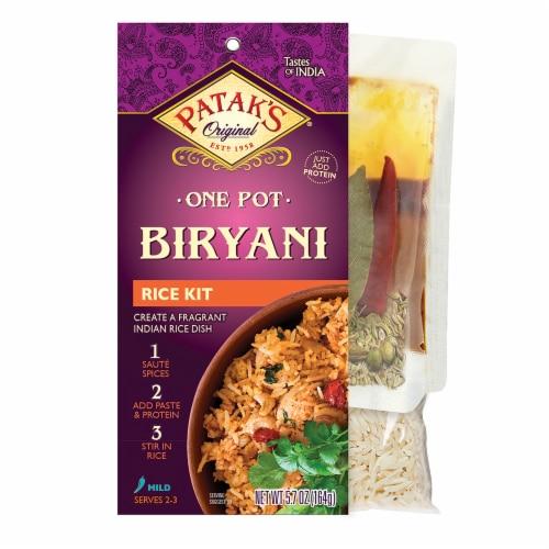 Patak's One Pot Birayani Mild Rice Kit Perspective: front