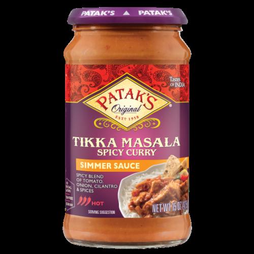Patak's® Hot & Spicy Tikka Masala Sauce Perspective: front