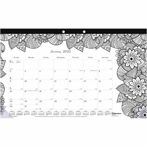 Blueline DoodlePlan Calendar C2917001 Perspective: front