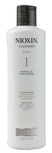 Nioxin 1 Fine Hair Shampooing Cleanser Perspective: front