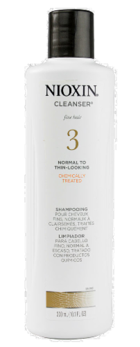 Nioxin Cleanser System 3 Shampoo Perspective: front