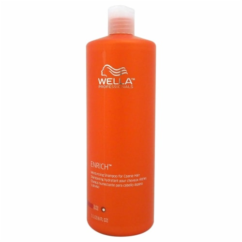 Wella Enriched Moisturizing Shampoo For Coarse Hair 33.8 oz Perspective: front