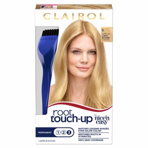 Clairol Permanent 9 Light Blonde Root Touch-Up Perspective: front