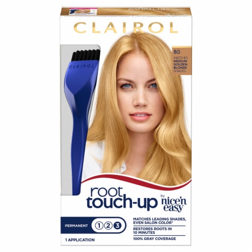 Clairol Permanent 8G Medium Golden Brown Root Touch-Up Perspective: front