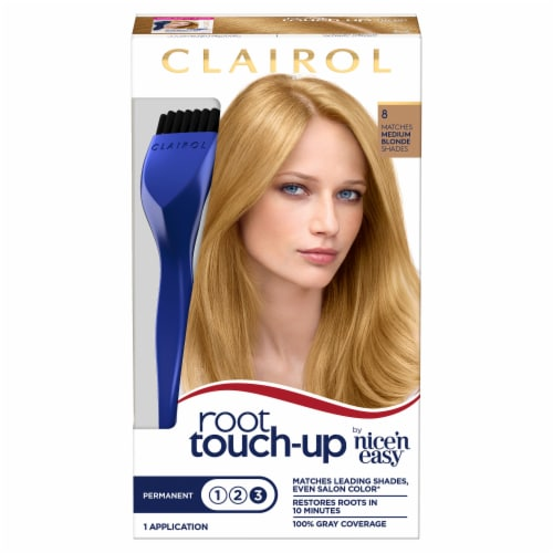 Clairol Permanent 8 Medium Blonde Root Touch-Up Perspective: front