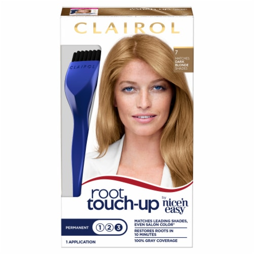 Clairol Nice'n Easy Root Touch-Up 7 Dark Blonde Permanent Hair Color Perspective: front