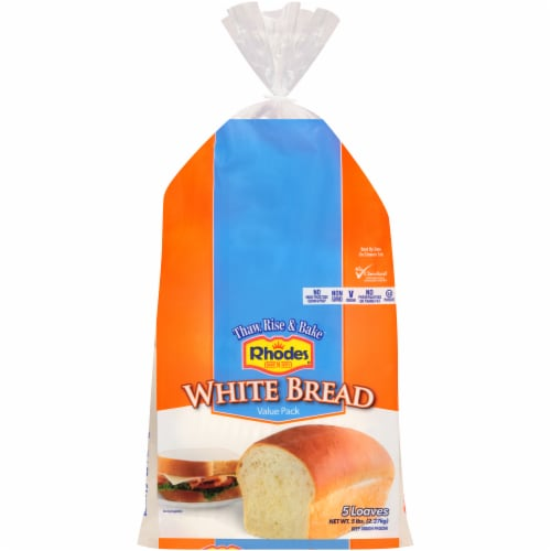 Rhodes® Warm-N-Serv White Bread Value Pack Perspective: front