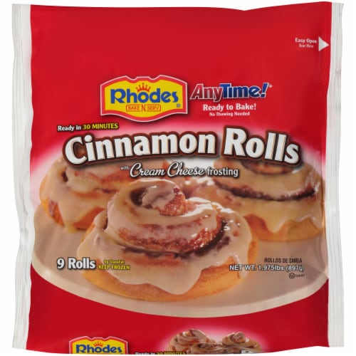 Rhodes AnyTime! Cinnamon Rolls Perspective: front