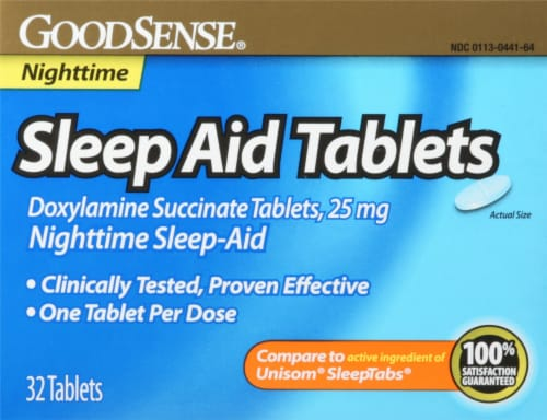 Good Sense  Nighttime Sleep Aid Tablets Perspective: front