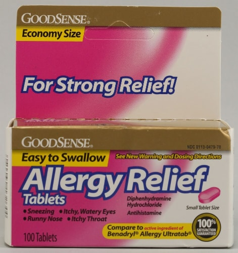 Good Sense  Antihistamine Allergy Relief Perspective: front