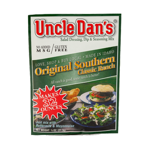 Uncle Dan's Original Southern Dressing & Dip Mix Perspective: front