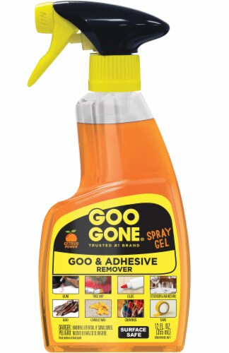 Goo Gone® Citrus Power Goo and Adhesive Remover Spray Gel Perspective: front