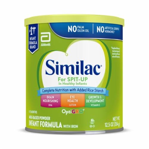 Similac for Spit Up Powder Infant Formula with Iron Perspective: front