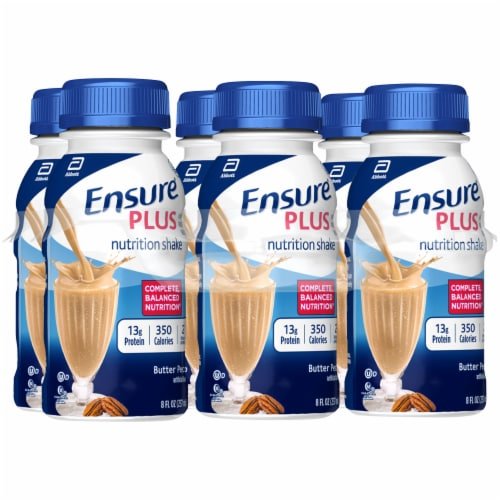 Ensure Plus Butter Pecan Ready-to-Drink Nutrition Shakes Perspective: front