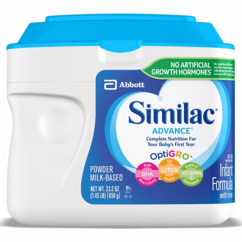 Similac Advance Powder Infant Formula with Iron Perspective: front