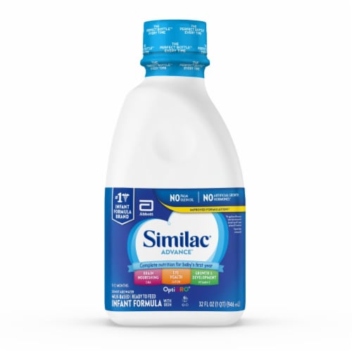 Similac Advance Ready-to-Feed Infant Formula with Iron Perspective: front