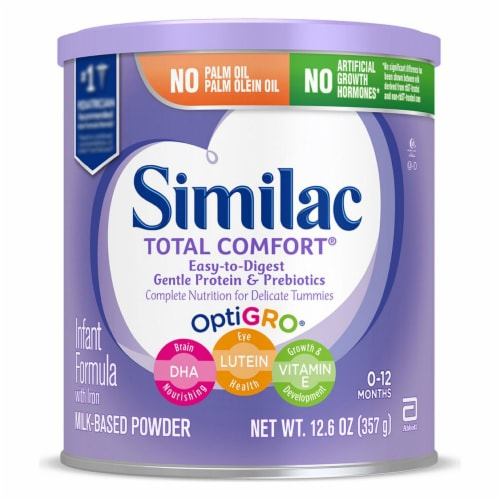 Similac Total Comfort OptiGro Infant Formula Powder with Iron Perspective: front
