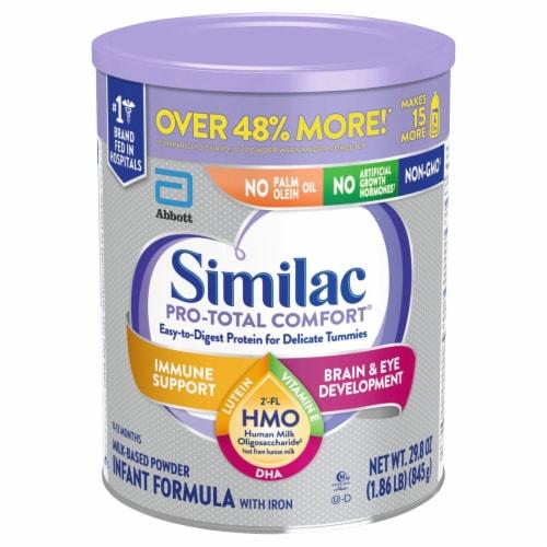 Similac Pro-Total Comfort OptiGRO Infant Formula Powder Perspective: front