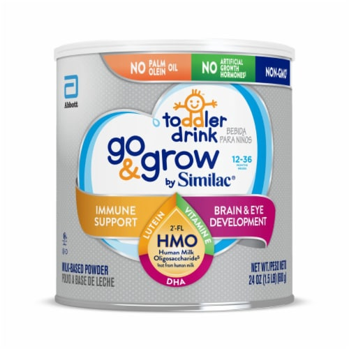 Similac Go & Grow Powder Toddler Drink Perspective: front