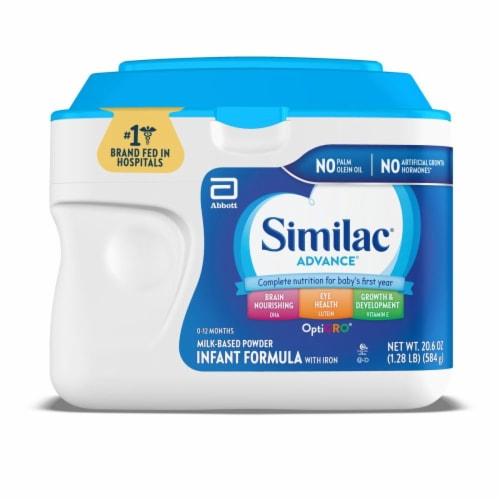 Similac Advance Infant Formula Powder Perspective: front