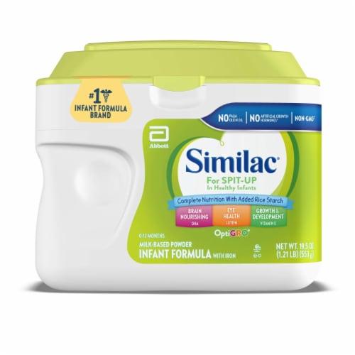Similac for Spit-Up Infant Formula Powder Perspective: front