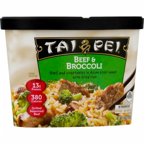 Tai Pei Beef & Broccoli Perspective: front