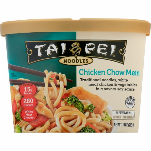 Tai Pei Chicken Chow Mein Perspective: front